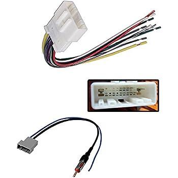 amazon com nissan car stereo wiring harness radio antenna adapter rh amazon com Nissan Caravan Nissan NV3500 Diesel