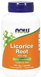 NOW Foods, Licorice Root 450mg 100 CAPS