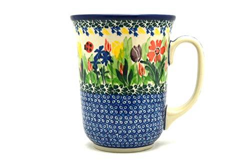 (Polish Pottery Mug - 16 oz. Bistro - Unikat Signature U3787)