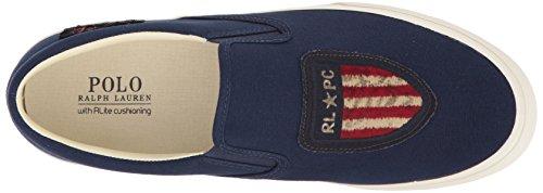 Polo Ralph Lauren Mænds Thompson P Sneaker Newport Flåde FSWnK1
