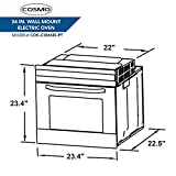 Cosmo C106SIX-PT 24 in. 2.5 cu. ft. Single Electric