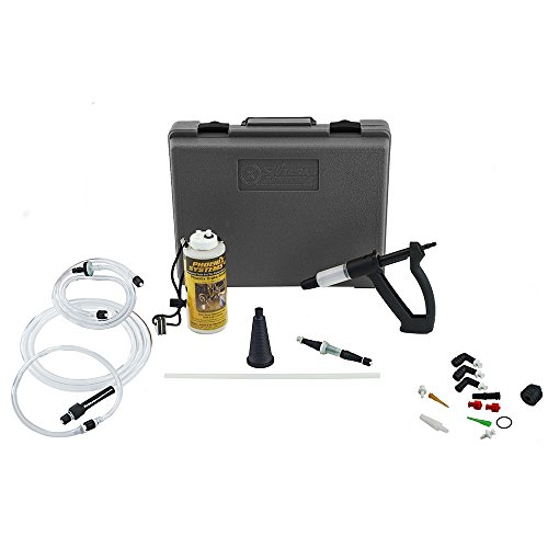 3-B) V-12 Reverse Brake & Clutch Bleeder Kit, Medium Duty One Person Bleeder, Hard Case (2004 Porsche Boxster Clutch)