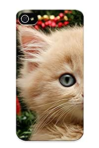 Ellent Design Merry Christmas Kien Phone Case For Iphone 4/4s Premium Tpu Case For Thanksgiving Day's Gift