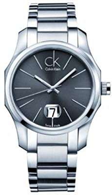 Calvin Klein Black Dial Stainless Steel Quartz Men's Watch K7741161
