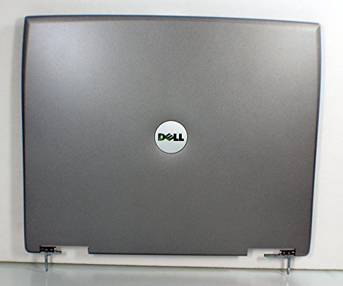 (NEW Genuine OEM Dell Latitude D500 Laptop LCD GRAY 14.1 Inch 34JM3LCWI07 Rear Case Back Cover Top Monitor Panel Enclosure Housing Lid W/Hinges Assembly)