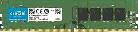 Crucial 8GB Single DDR4 2133 MT/s (PC4-17000) SR x8 Unbuffered DIMM 288-Pin Memory - CT8G4DFS8213 - Maximus Formula