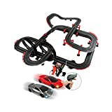 LIUFS-Track Children's Track Toy Double Competitive Racing Track Model Track Combination Set Racing Track Birthday Gift (Color : Electric Version, Size : 14.2m)