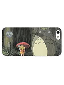 Case For Sam Sung Galaxy S4 Mini Cover &5S Case - Anime - My Neighbor Totoro54 3D Full Wrap
