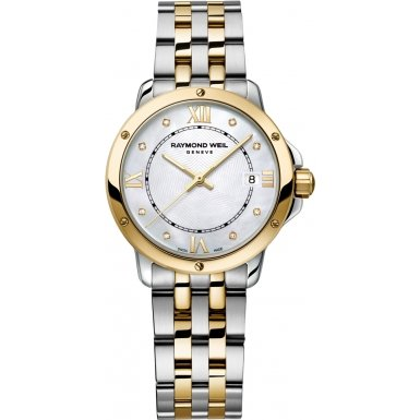 Raymond Weil Tango MOP Dial Two-Tone SS Quartz Ladies Watch (Mop Quartz Watch)