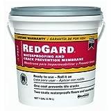 CUSTOM BLDG PRODUCTS LQWAF1-2 Redgard Waterproofing, 1 gal by Custom Building Products