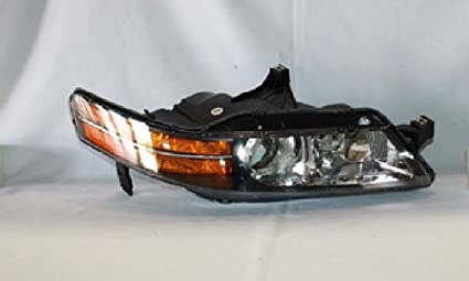 Amazoncom Acura TL Headlight Right Passenger Side - Acura tl headlight bulb