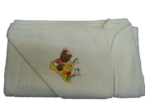 Con diseño de BabywearUK para la bañera para bebés del traje de oso de peluche y diseño de oso de