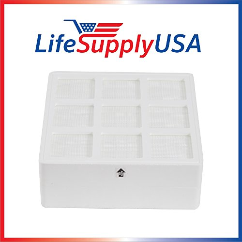 LifeSupplyUSA Aftermarket Replacement HEPA filters for IQ Air iqair hyper hepa hyperhepa H12 H13 models healthpro, healthpro plus