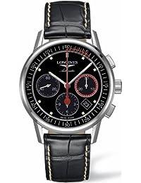 Longines Men's Heritage Black Dial Automatic Watch L47544524