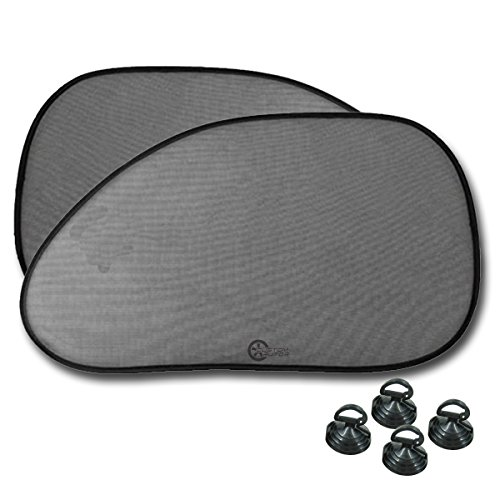 CUSTOM Car Window Mesh SunShade Black Automotive Sun Shade UV Ray Protector Privacy Screen (Side Sun Shade)