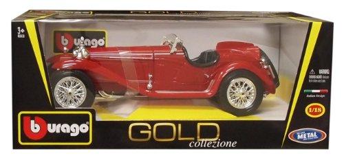 1/18 アルファロメオ8C2300 スパイダーツーリング 1932 レッド 「Gold Collezione Series」 B18-12063R