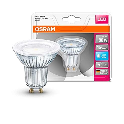 Osram 815599 Bombilla LED GU10, 6.9 W, Blanco
