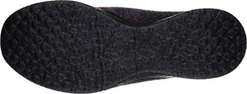 Skechers Microburst-Imagination Mujer US 7 Negro Zapatos para Caminar