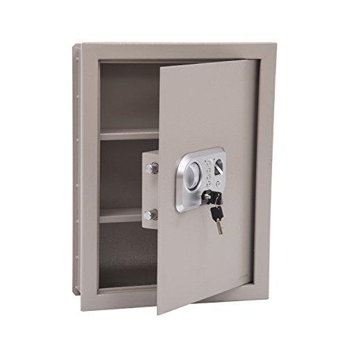 HomCom Flat Recessed Fingerprint Digital Home Security Gu...