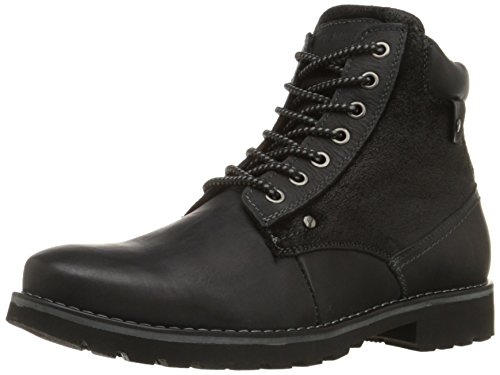 Steve Madden Men's Canterr Winter Boot, Black, 9.5 M US