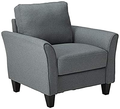 Harper&Bright Designs PP039582 Living Room Furniture Armrest Single Sofa (Chair), Grey