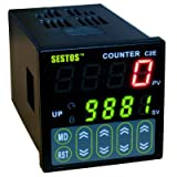 Sestos Digital Preset Scale Counter Tact Switch Register 12-24V CE C2S