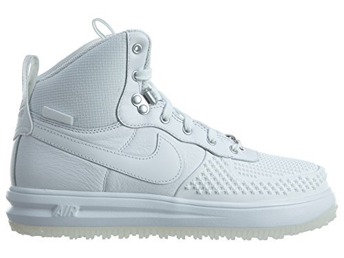 Nike Lunar Force 1 Duckboot (GS) Big Kids Shoes White/White 882842-100 (6.5 M US)