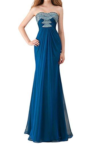 Toskana Lápiz Vestido Azul Para 52 Braut Mujer wZZgABr7q