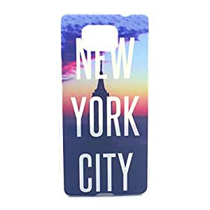 Galaxy Alpha G850F Case - LUOLNH Fashion Style Colorful Painted NEW YORK CITY Hard Case Back Cover Protector Skin For Samsung Galaxy Alpha G850 G850F