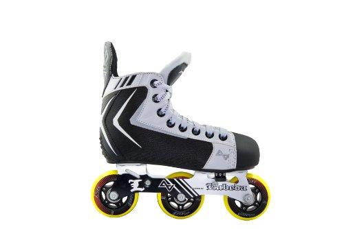 Alkali Hockey RPD Lite Junior-11 Adjustable Skates, Black, One Size