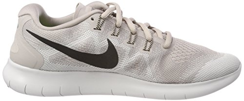 Nike Free RN 2017, Scarpe Running Donna Grigio (Moon Particle/Black-vast Grey-sand 200)