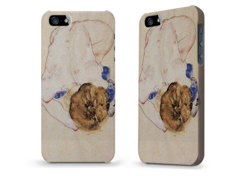 """Hülle / Case / Cover für iPhone 5 und 5s - """"hockende Frau"""" von Egon Schiele"""