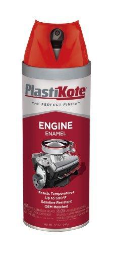 (PlastiKote 209 Universal Red Engine Enamel, 12 oz. by PlastiKote)