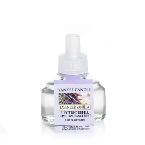 (Yankee Candle Lavender Vanilla ScentPlug Refill)