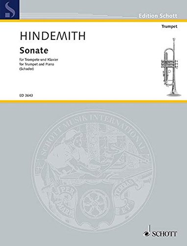 Sonata (1939): Trumpet and Piano (Edition Schott) (Best Classical Trumpet Solos)