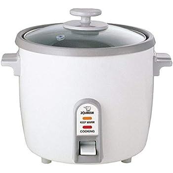Amazon.com: Zojirushi White Rice Cooker/Steamer (3, 6, and