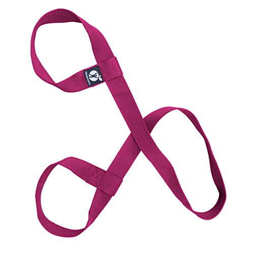 Yoga Mat Strap - Carrying Sling - Durable Cotton - Light Purple