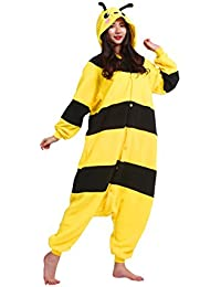 Unisex Novelty Cosplay Onesie Pajamas Costumes Adults Hoodie Kigurumi Sleepwear Party Dress