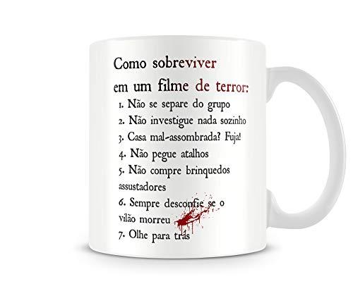 CANECA COMO SOBREVIVER A UM FILME DE TERROR