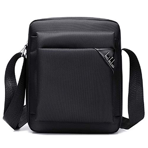 Briefcase For Work Messenger Shoulder Men Office Computer Laptop Black Hhgold color Black Bag C1t8wq