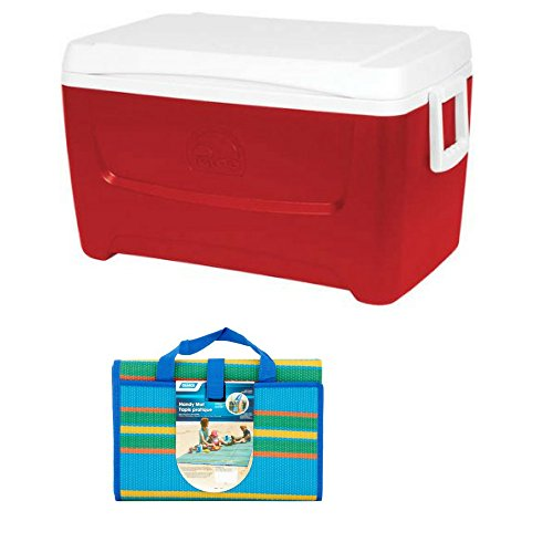 Igloo 48-Qt Island Breeze Cooler w/Handy Mat by Igloo Products Corp.