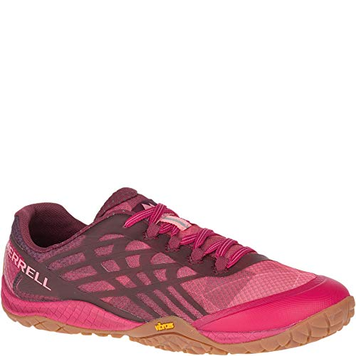 Merrell Trail Glove 4 Women 8 Persian Red (Wolverine Trail Runner)