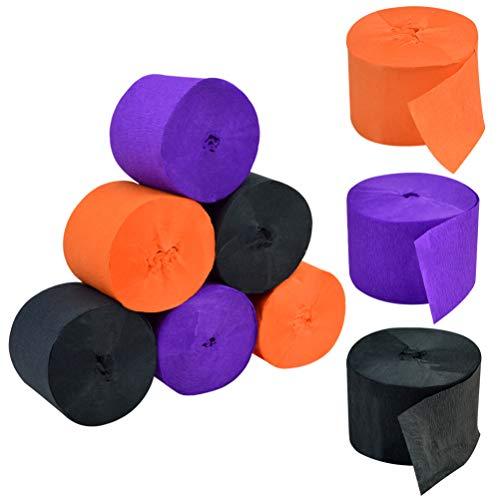 orange and black streamers - 9