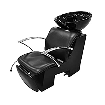 Amazon.com : Backwash Shampoo Unit CONTI w/ Shampoo Bowl, Sink ...