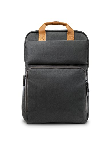 Hp - Laptop Backpack - Brown/gray
