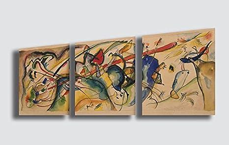 Quadri Moderni Per Ufficio : Quadro wassily kandinsky improvisation ii riproduzione stampa su