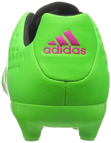 para de Negbas 16 Ace Botas FG Hombre Versol fútbol Adidas AG 3 Negro Rosimp Verde Rosa a8YWq