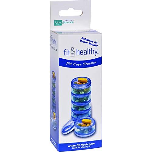 Vitaminder, Pill Stacker Case, 1 Count
