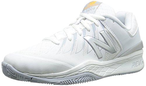 New Balance Mujer wc1006V1Zapatillas de tenis Blanco/Plateado