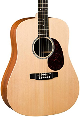 Martin X Series DX1KAE Dreadnought Acoustic-Electric Guitar Natural ()